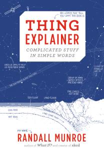 cadeaux geek - Munroe Thing-Explainer